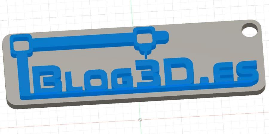Impresión 3D en dos colores con Cura y una Ender3