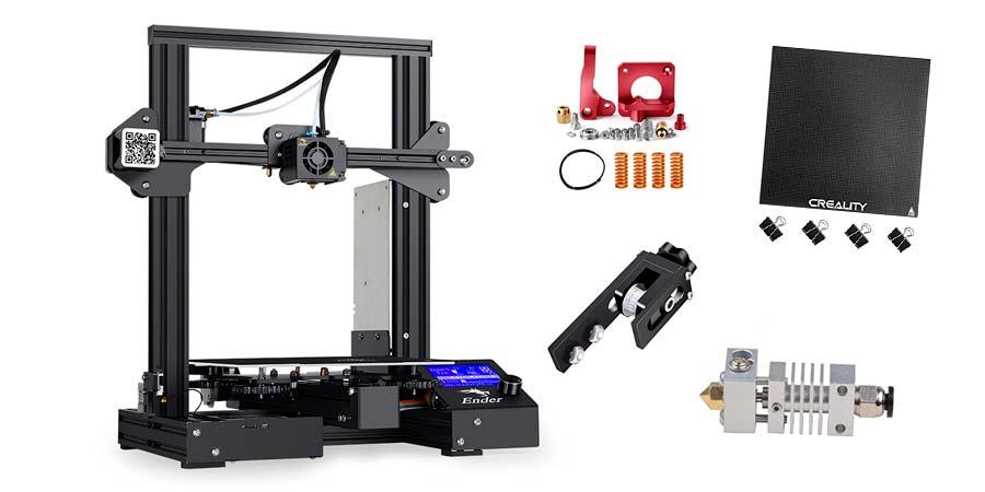 Mejoras para impresora Ender 3 Pro