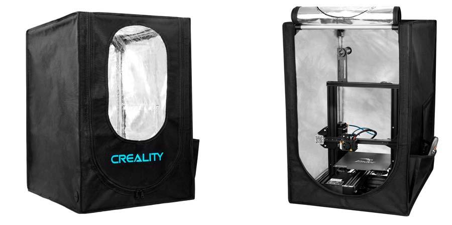 Cubierta Creality para Ender 3 Pro y similares
