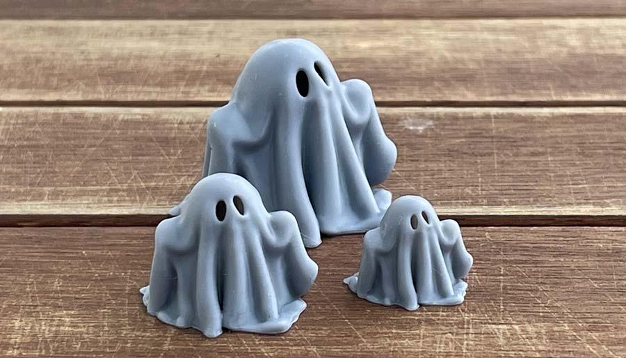 Fantasmas para impresión 3D en SLT