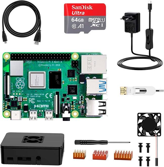 Raspberry Pi 4B+ para instalar OctoPrint